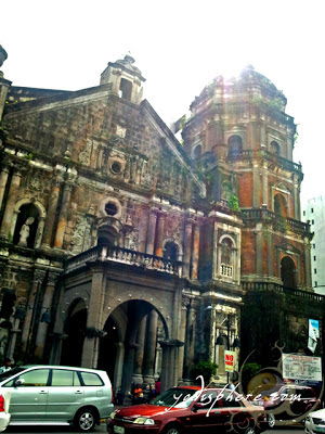 Photo of the facade of Binondo Church