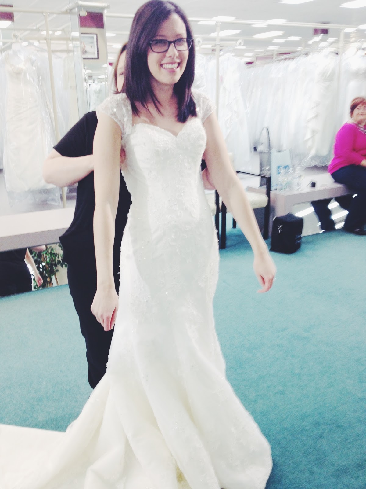 bethany leigh: ordered a wedding dress + shoes