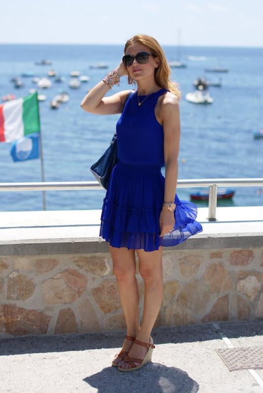 Zara dress, Palomitas shoes