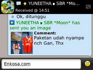 jual online grade ori jersey made in thailand Testimoni Yunita Sari
