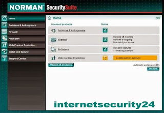 Norman Security Suite 10 Serial Key License Free For 1Year