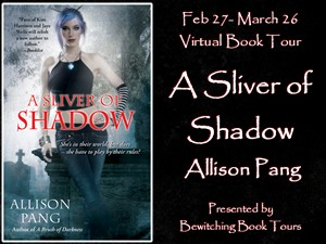 {Book Review+G!veaway} A Silver of Shadow by Allison Pang