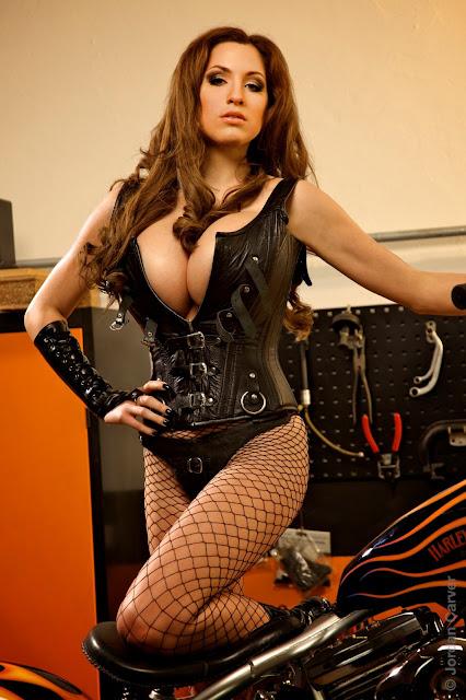 Jordan Carver - Biker Girl