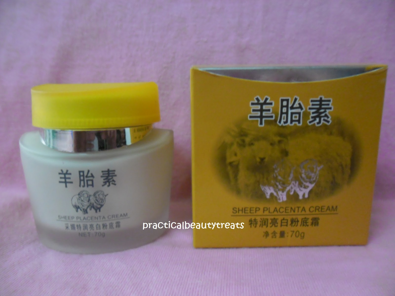 sheep placenta whitening foundation cream