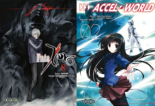 Accel World, Actu Manga, Goodies, Japan Expo 2015, Manga, Ototo, Sword Art Online,