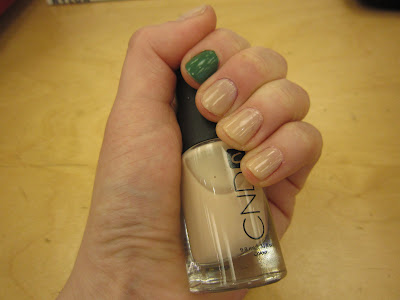 mani, manicure, mani of the week, OPI, OPI Don't Mess with OPI, OPI nail polish, CND, CND Putty, CND nail polish, polish, nail polish, lacquer, nail lacquer, nails