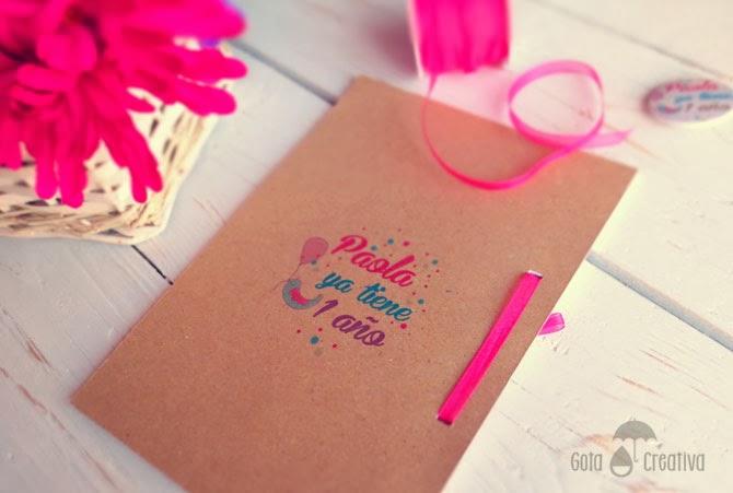 regalo primer año Gota Creativa