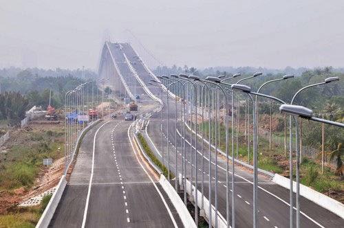 Một đoạn thuộc cao tốc TP.HCM - Long Thành - Dầu Giây - Ảnh: Mai Vọng