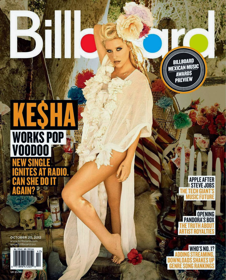 Cheryl's AS Media Blog: Music Magazine Research Kesha Vibe Magazine