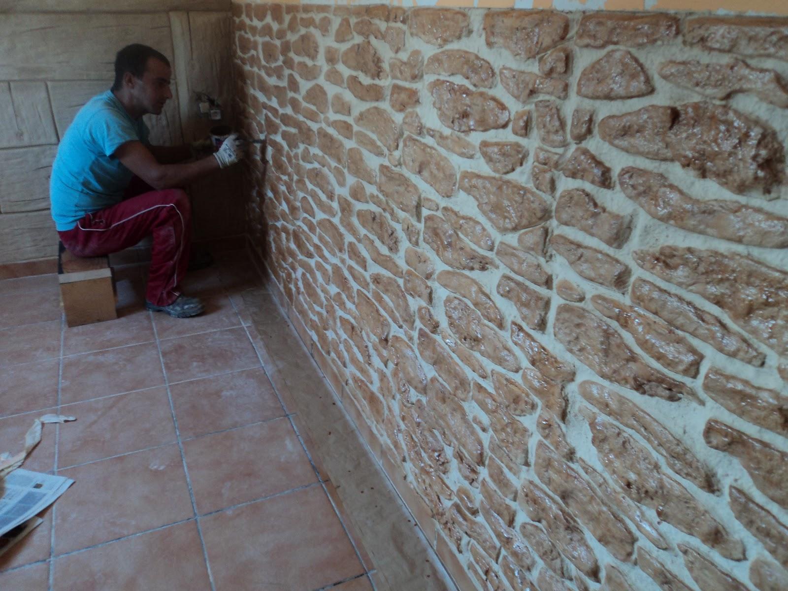 Decoracion de paredes con relieves decoracion de - Resina para paredes ...