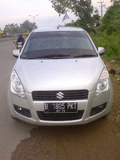 Pengiriman Suzuki Splash B 1808 PKT Banjarmasin-Jakarta