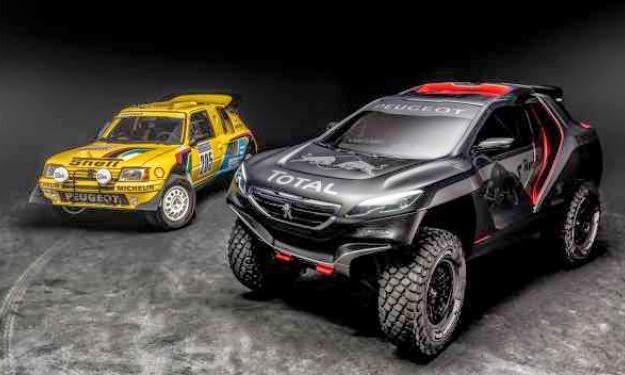Peugeot 2008 DKR Buggy Dakar 2015
