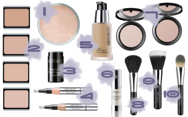 Preview - Artdeco Make-up Specials - limitierte Kollektion (LE) - Februar 2014