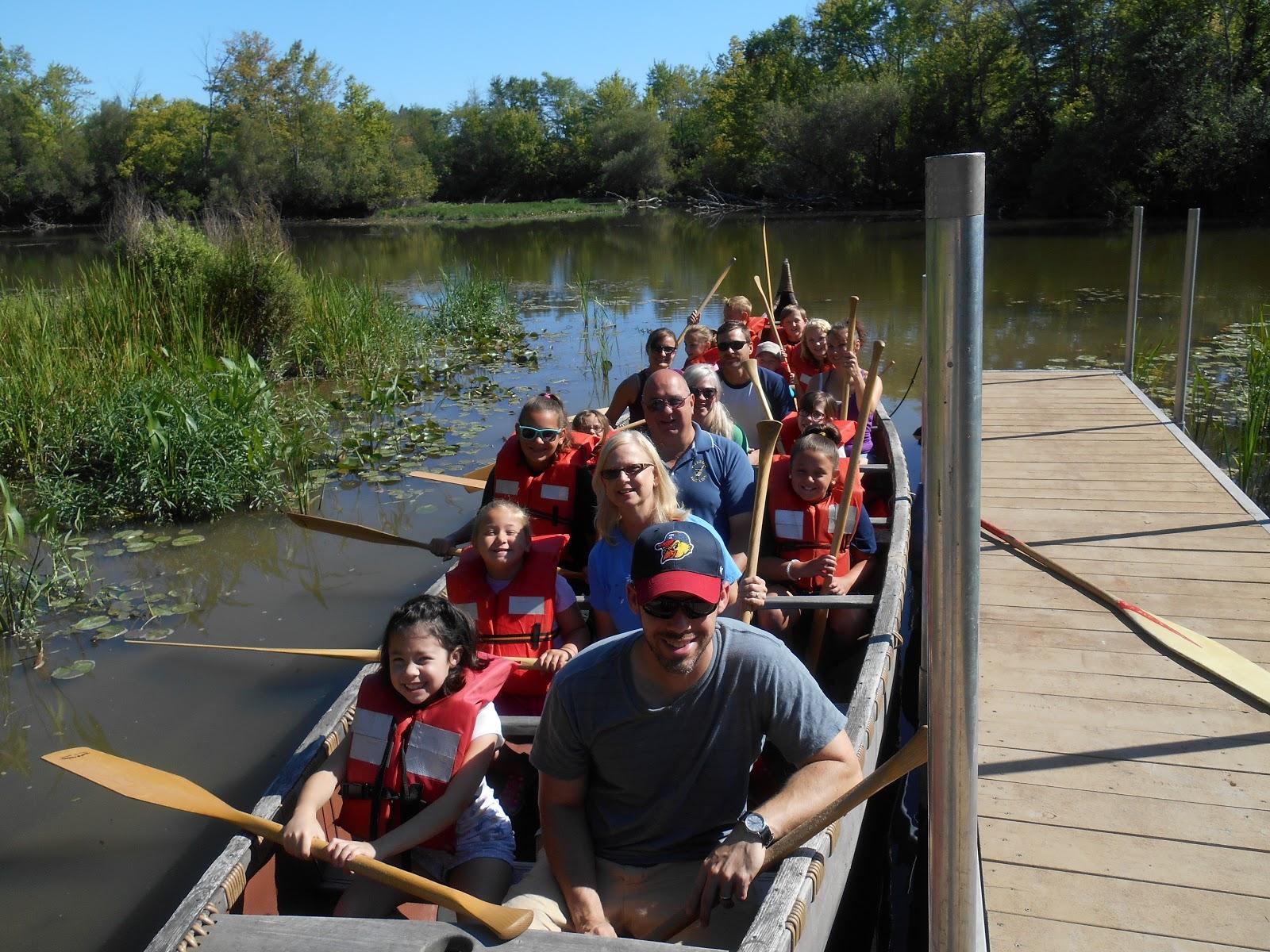 Downriver outdoors big canoe big fun for Big canoe
