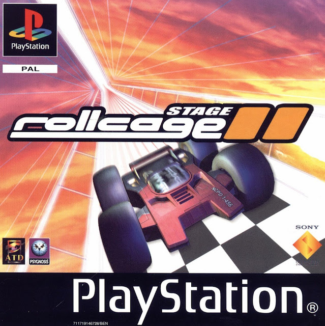 PlayStation, Rollcage Stage II, race car game