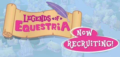Legends of Equestria: now hiring!