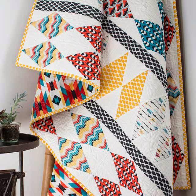 Free pattern! Totem quilt