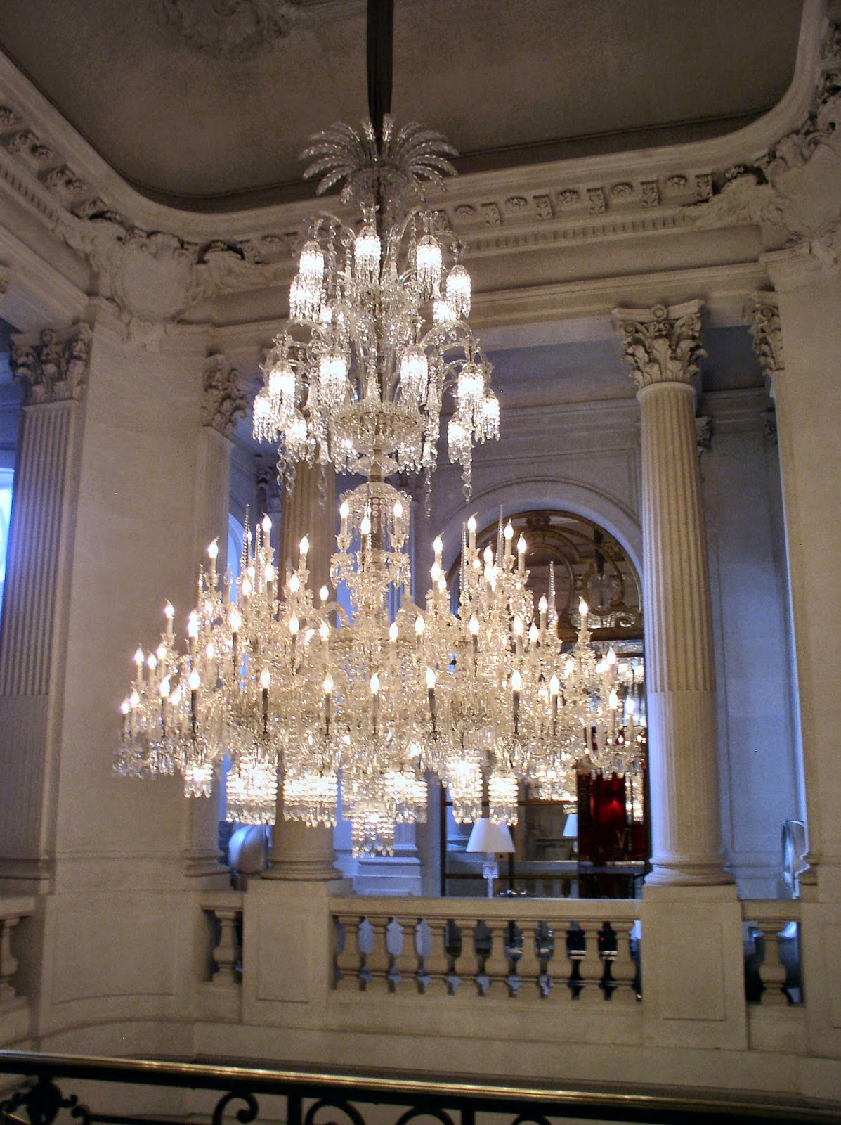 From Paris With Love: The Baccarat Crystal Palace - Antique Baccarat  Crystal Chandelier Antique Furniture - Antique Baccarat Crystal Chandelier Antique Furniture