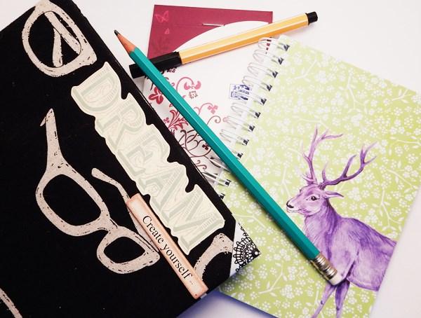 Loisirs créatifs : mon matériel indispensable carnets
