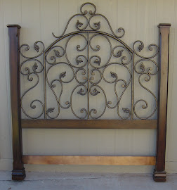 Scrolly Headboard (SOLD)