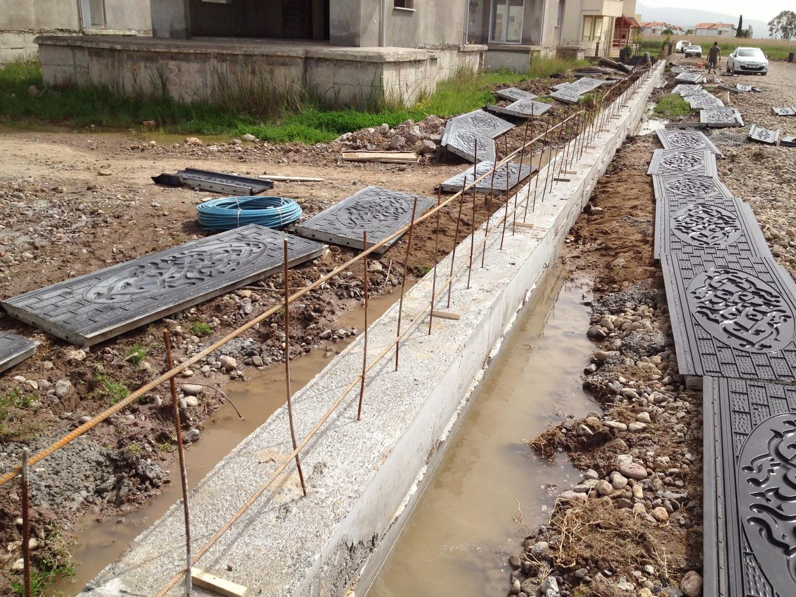 Perde beton bahçe duvarı