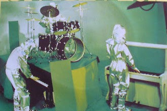 Space Art como trío en una aparición televisiva de 1977