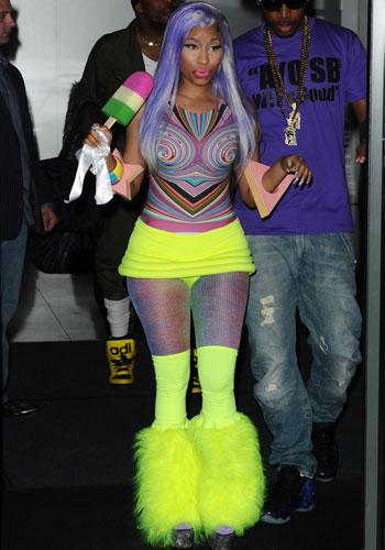 Nicki Minaj Baby Bump 2013