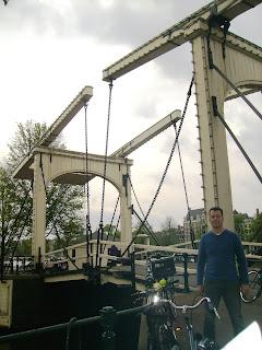 passeio de bicicleta Amsterdã