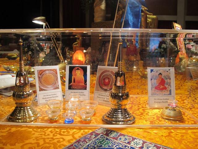 Reliquien Buddha, Shakyamuni, Maitreya Reliquien, Bottighofen, Bodensee, Bodenseeforum