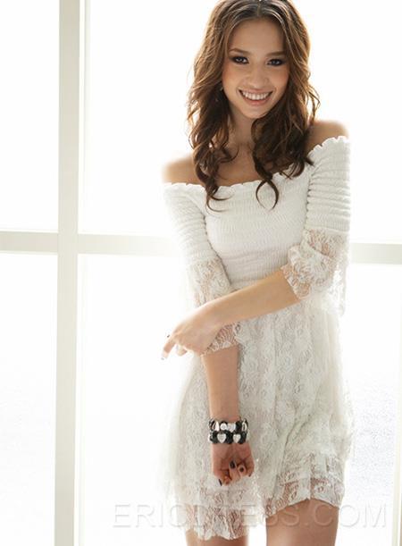 http://www.ericdress.com/product/2013-New-Arrival-Falbala-Strapless-Stratified-Skirt-Half-Sleeves-Women-Dress-10560123.html