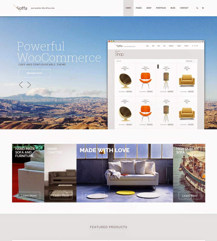 Soffa – Furniture & Bussiness WordPress Theme