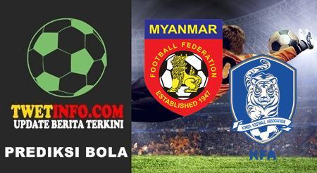 Prediksi Myanmar U21 vs Korea Republic U21