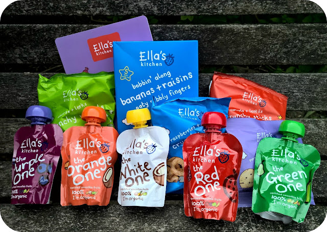 Ella's Kitchen Toddler Snack Range
