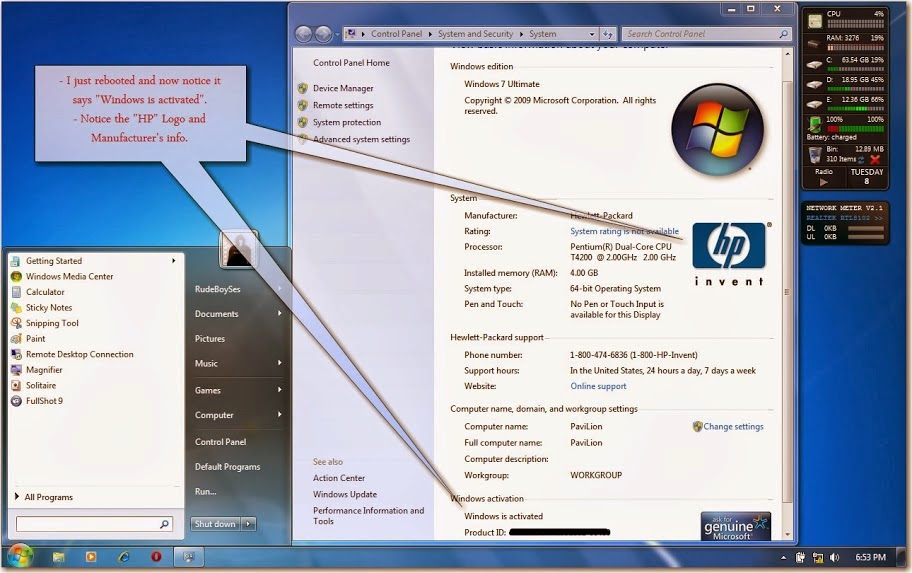 Windows vista 7 activation tool kit 2.2
