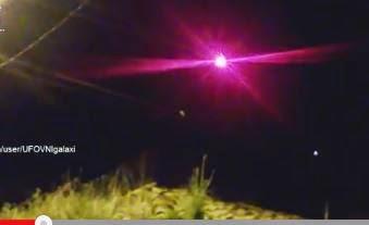 UFO OVNI PERU 2015 PULSAR STAR