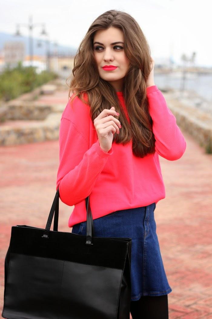 Matteme_sleek_labial_lipstick_pintalabios_brinkpink_tono_fluor_neon_fluorescente_look_outfit_angicupcakes01