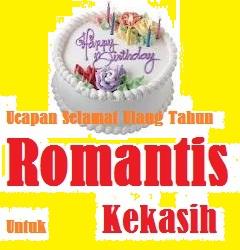 ucapan selamat ulang tahun romantis