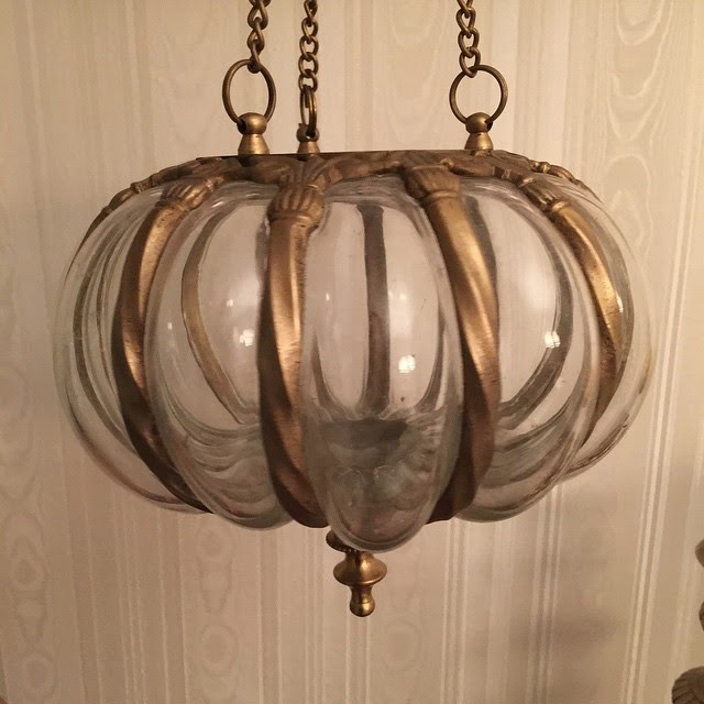 #thriftscorethursday Week 54 | Instagram user: design_it_vintage shows off this Vintage Moroccan Hanging Lantern