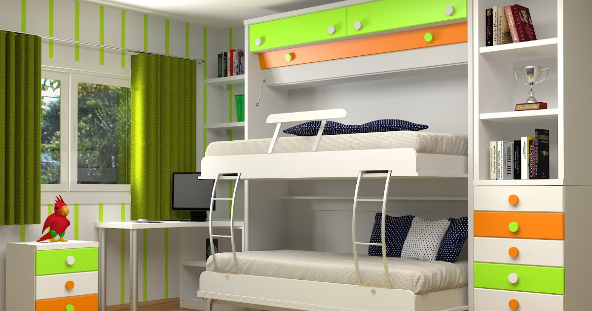 Muebles juveniles dormitorios infantiles y habitaciones - Dormitorios infantiles literas ...