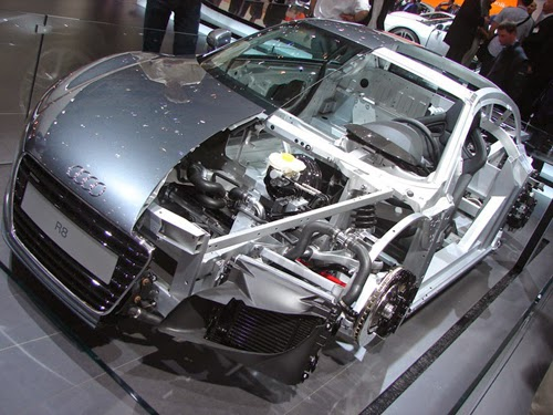 Cut Away Cars in Auto Shows