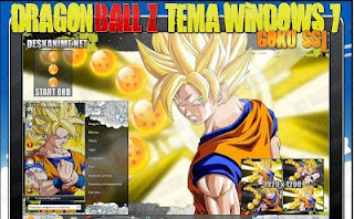 Dragon Ball Super Saiyan Windows7