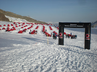 The staff at Mammut was awesome - they went all out to make this a top notch anniversary event. & Mammut - Top of Europe - Jungfraujoch!!! | Art Mooney IFMGA/AMGA ...