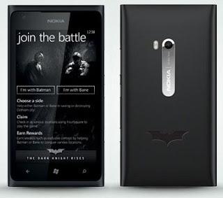 Nokia Lumia 900 Edisi Ekslusif Batman Hadir Di Indonesia