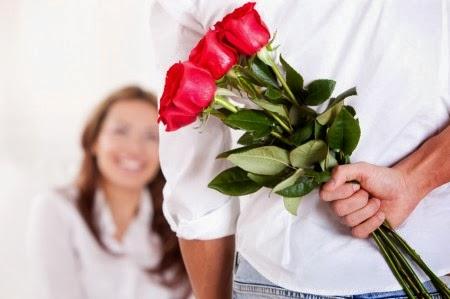 menyatakan cinta bunga mawar