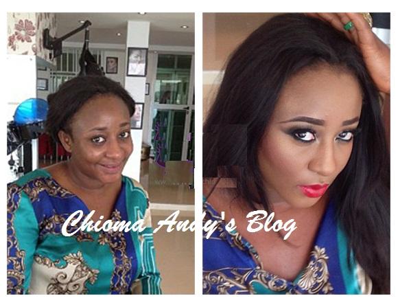 Ini Edo's Major Makeup Transformation chiomaandy.com