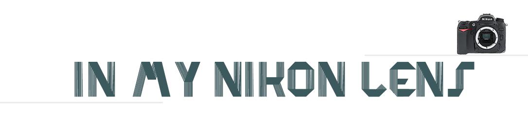 In my Nikon lens