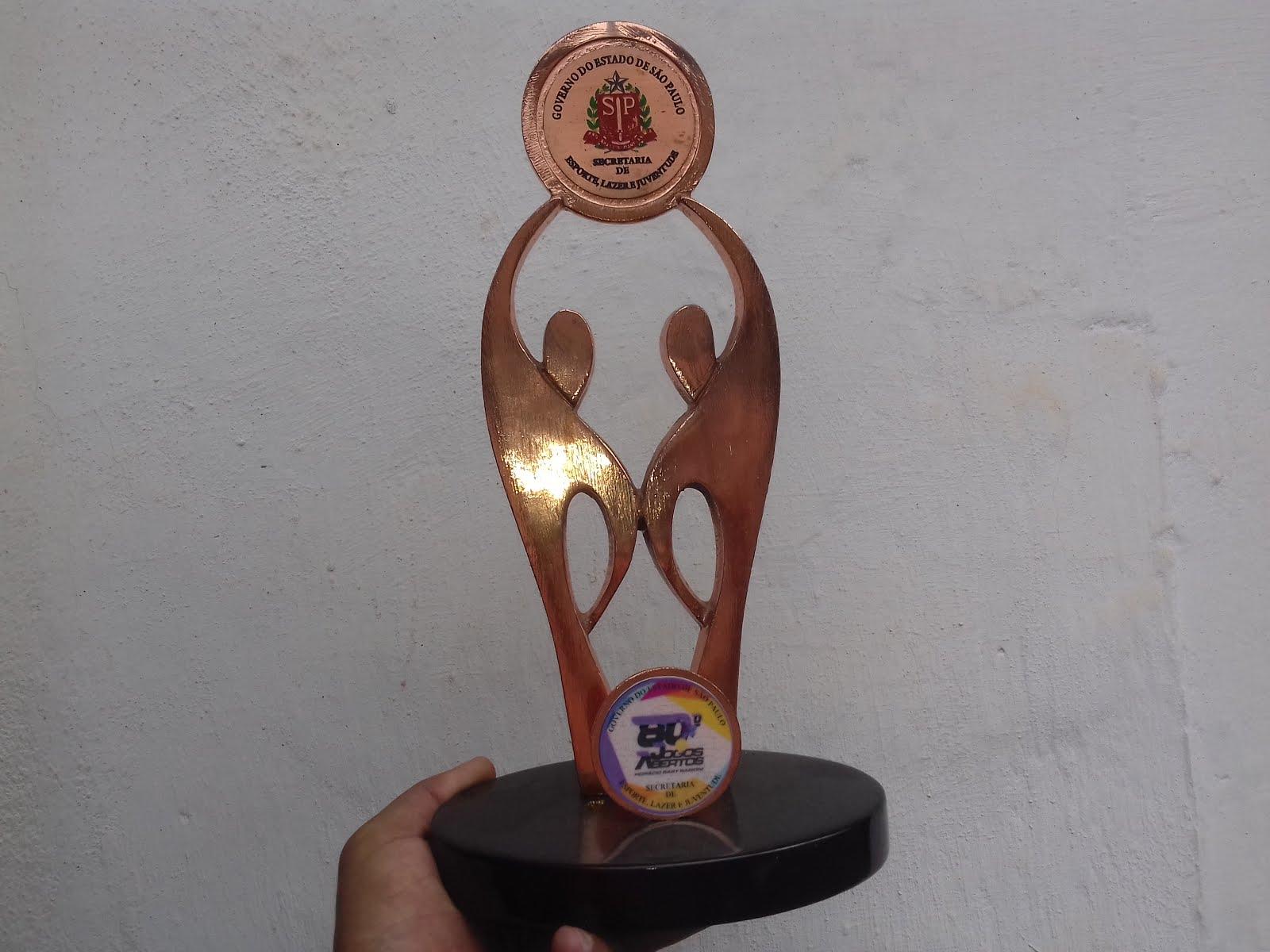 Troféu OURO por equipes UBATUBA nos 80º Jogos Abertos de 2016