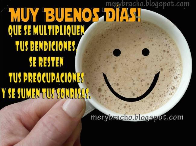 Buenos Días amiga  Buenos Deseos imagen cristiana facebook