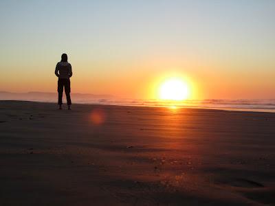 Volunteer on Chintsa beach, South Africa