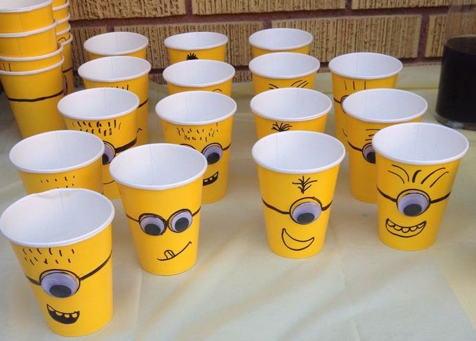 Related to Vasos de Minions - DIY Minions party cups - YouTube